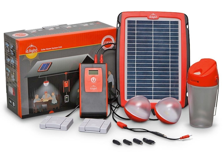 d.light D20 Solar Home System Kit