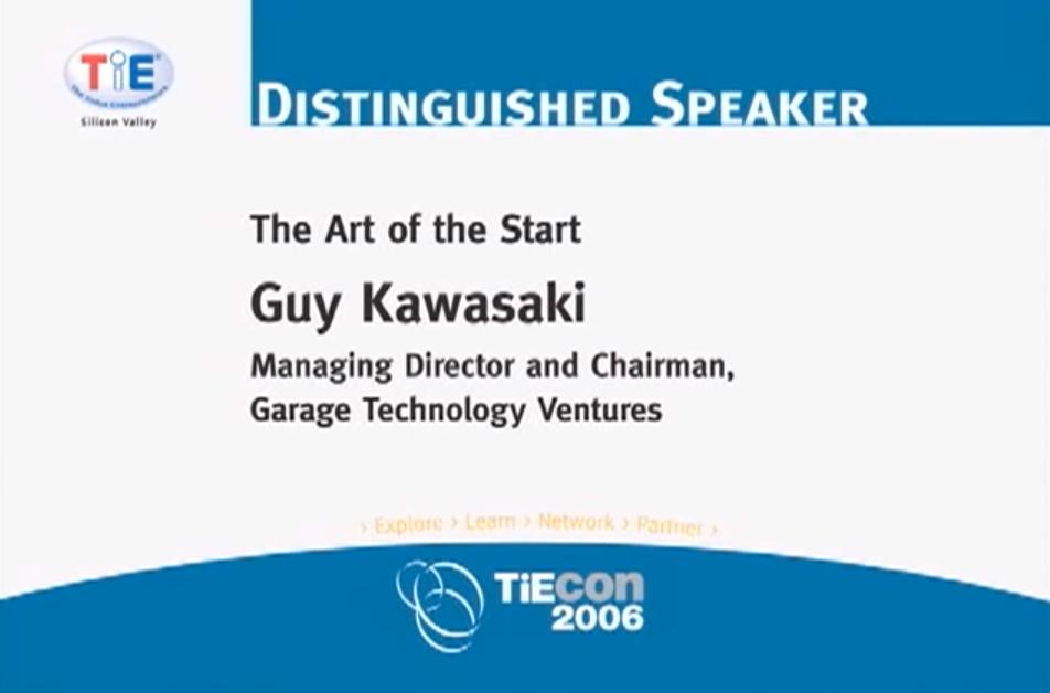 Guy Kawasaki: The Art of the Start - Garage Technology Ventures